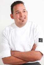 Lo chef Giuseppe Causarano del ristorante Fattoria delle Torri di Modica, RG
