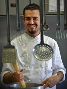 Giuseppe Puglisi, chef del ristorante Donna Carmela
