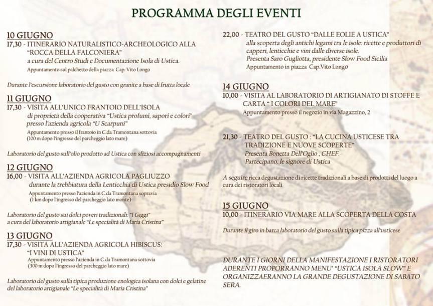 programma brochure