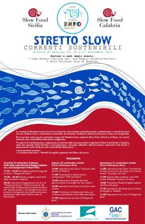 Stretto Slow, Correnti Sostenibili, 25-26-27Settembre