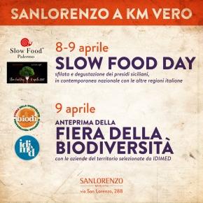 Slow Food Day, 8-9 Aprile, SanlorenzoMercato
