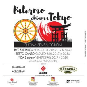 Palermo chiama Tokio! 7-8-9giugno