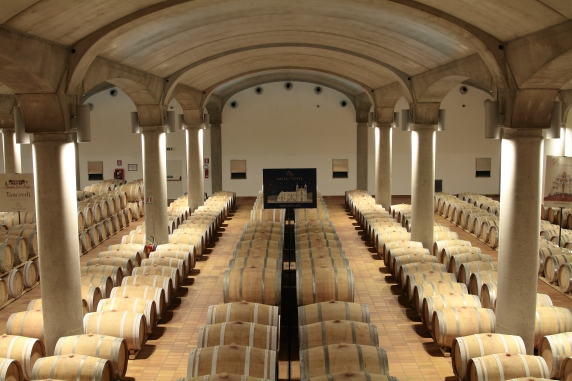 Donnafugata Barrique Cellar at Marsala ph_G_Anderson - Copia